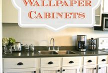Cheaply do over Horrendous 1950s kitchen / Ideas for remodeling cheaply. / by Sleek Living