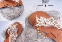 Sandals By Little Stone Jewels