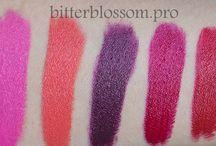 My beauty blog / bitterblossom.pro  https://www.youtube.com/user/bitterblossomvlog