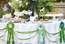 Theme Party | Kentucky Derby Party / Collection of Kentucky Derby related recipes and party decor ideas.