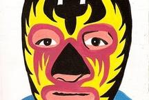 We <3 Luchadors! / Luchadors rule.  - Tinyfrockshop.com