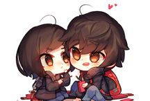 Anime couple chiby^~^