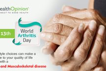 World Arthritis Day / Start exercising to strengthen your joints for an improved quality of life in your future.