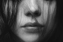 schwarz/weiß Portraits