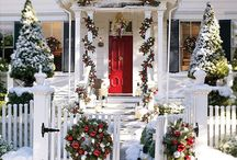 Christmas Decor- exterior / Exterior decor inspiration / by Bradley Odom