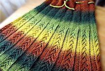 Knitting / Knitting skirts, hats, bags ideas