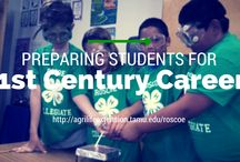 Texas 4-H & Youth / 4-H prepares youth to meet the challenges of childhood, adolescence and adulthood, through a coordinated, long-term, progressive series of educational experiences that enhance life skills and develop social, emotional, physical and cognitive competencies.