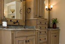 Bathrooms-New Home / by Lindsey Wallace Van Wingerden