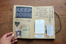 Art journal... one day...