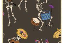 Dia De Los Muertos & Skulls
