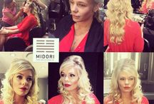 Midori Makeovers / Be amazed at the incredible Midori client transformations, with hair and makeup. Midori also does makeup for your special events.