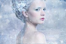 winter nymph avant garde shoot / looks for winter nymph photo shoot
