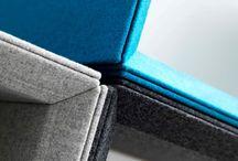Abstracta_Domo / DOMO, un sistema completo, que incluye elementos de revestimiento de paramentos verticales y/o techo,  paneles auto portantes, #accesorios para sobremesa  y #soluciones para la #creación de espacios de concentración. #diseño #interiorismo #decoración