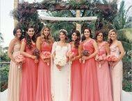 Vestidos madrinha  rosê