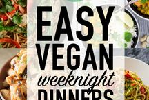 Vegan easy dinners