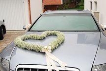 auta svatba