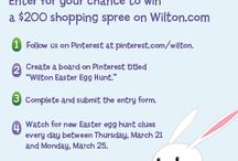 Wilton Easter Egg Hunt / #wiltoncontest / by Cindy Letchworth
