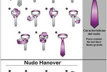 como anidar una corbata