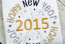 NEW YEARS APPLIQUE DESIGNS / by Creative Appliques