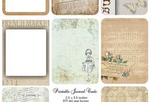 Printables / Printable cards, borders, tags etc