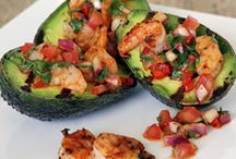 Snack. Foods / Grilled avocardos