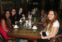 Volunteers on weekend Trip to Agra / Latest pictures of our volunteers from their weekend trip before moving to their project site in Palampur, #India