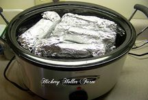Crockpot recipes/ideas / by Margie Mellon