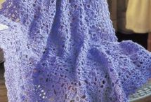 Crochet Afghans, Blankets & Throws / by Linda Arnold-Heppes