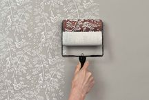 wall paper paint brush