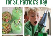 Saint Patrick's day / All things Saint Patrick from crafts to food or even pranks☘