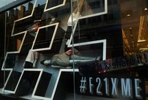 Forever 21 Window Display / Different Designs on Window Display