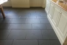 Limestone Tiles / Beautifully restored Limestone floor tiles. Showcasing our stone restoration services for Berkshire.
