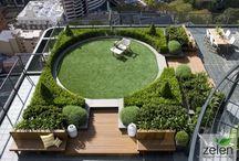 ogrody z motywem koła