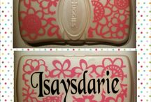 Personalized Baby Wipes Cases