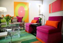 Bold Color Combinations / by NexTrend Design (Ellie Hanson)