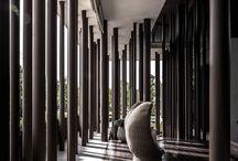 small residential lobby