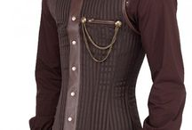 Holding it in place / Mens corsets