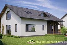 Projekt domu Baldur / Dom tradycyjny z dodatkową powierzchnią na poddaszu do dowolnej aranżacji