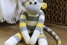 Sock monkeys / by Kathleen LaPorte