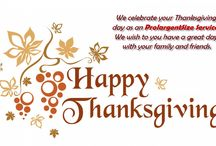 Happy Thanksgiving Day !! / We wish you a very great day with your family and friends