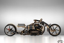 Special 2-wheelers with a 3-wheeler or two thrown in for good measure / by Mike Hill