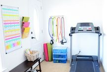 Workout nook
