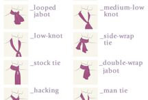 different types of ties