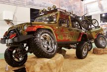 The Sandbox /  Off-Road Trucks and Jeeps   / by Mike Normandin