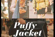 Puffy Jacket / Puffy Jacket es todo lo que necesitamos para un invierno sofisticado