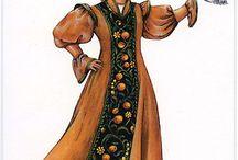 Традиционные костюмы народов мира
