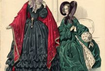 1831-1840 Fashion Women / Gowns worn by women between 1831 and 1840.  / by Suzi Love