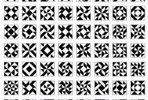 Half square / Flying geese / Triangle blocks