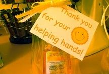 Thank you gifts / by Erin
