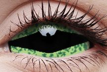 Sclera Reptillia Contact Lenses / Our line of Sclera Crazy Contact Lenses is a perfect fit for those that want to go that extra mile with their Halloween costume and regular corneal contact lenses aren't enough. If you want to buy cheap contact lenses that will completely transform the way you look browse our Sclera Crazy Contact Lenses catalogue and you're bound to find something you'll love.